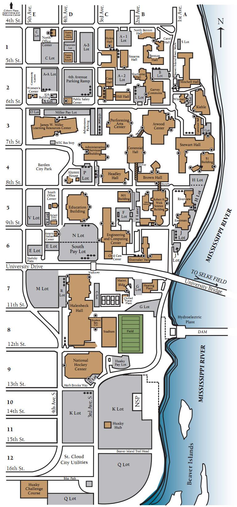 Starz Baseball Camp Map & Directions